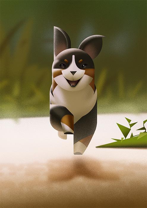 Just a little pup