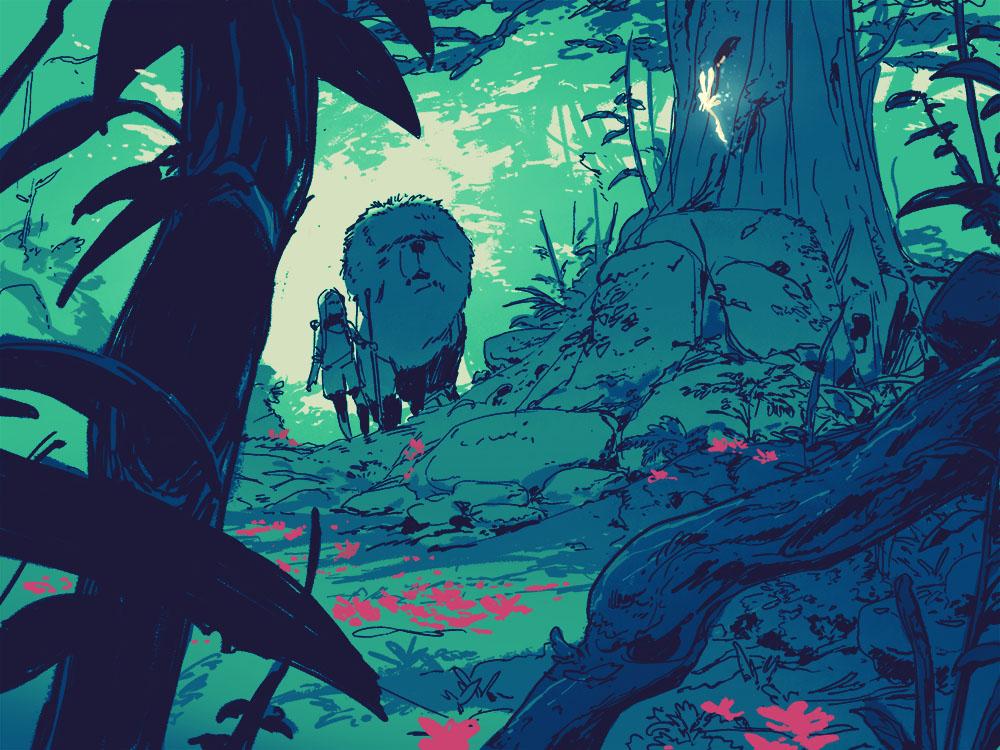 Stream of consciousness – forest
