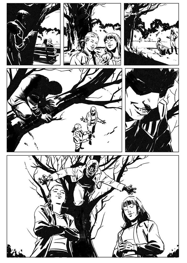 Comic book test