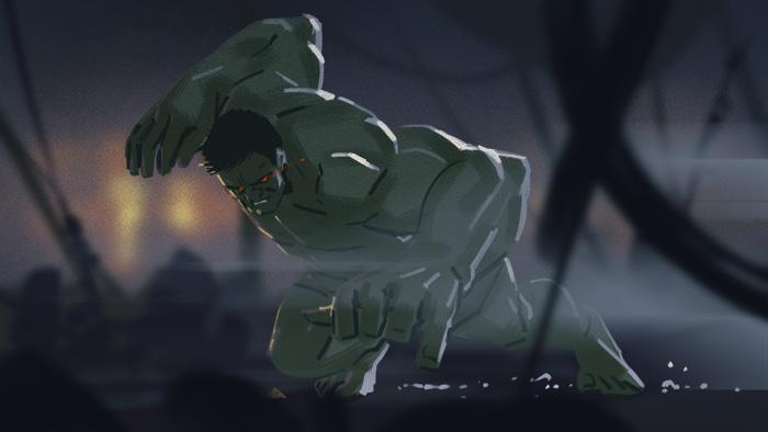 Waiting for feedback-Hulk