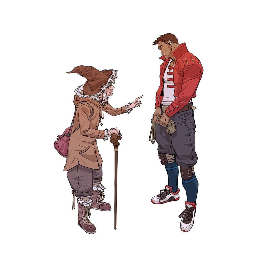 Random figure drawing w02 2020