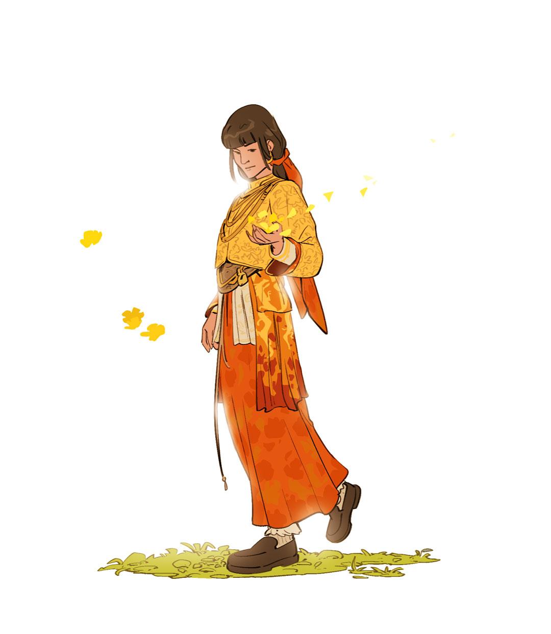 Random figure drawing